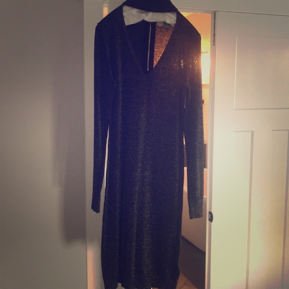 Michael Kors Dresses & Skirts - Michael kors gold sparkly dress